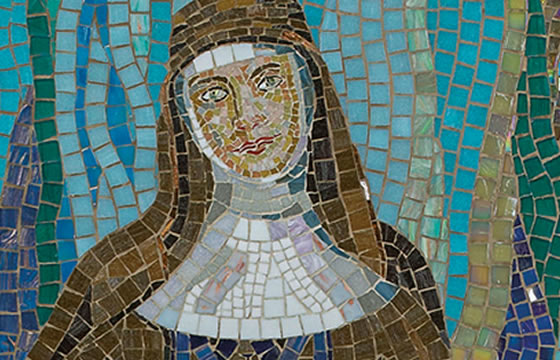 mosaic of Mary Mackillop